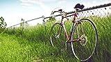 Rompecabezas de 1000 piezas para adultos Rompecabezas de madera Retro Bicicleta Arte DIY Juego de ocio Juguete divertido Regalo adecuado Amigos de la familia