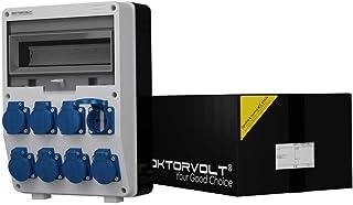 Stromverteiler TD 8x230V Wandverteiler Steckdosenverteiler Baustromverteiler 6367