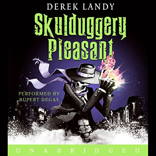 Skulduggery Pleasant cover art