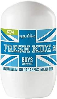 Fresh Kidz Natural Roll On Deodorant 24 Hour Protection - Boys