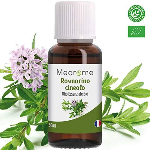 Olio Essenziale di Rosmarino Biologico • 100% Puro, Naturale e Vegano •...