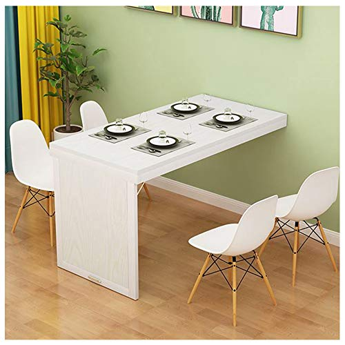Ldfzq Wall-mounted Side Table, Wooden Folding Dining Table, Bar Counter, Laundry Counter, Wall Table, Fold Out Convertible Desk