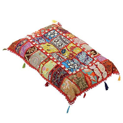 albena shop 72-103 Jevana orientalisches Bodenkissen 40x60cm (Multicolor)
