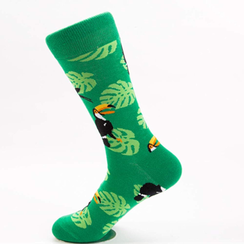 KKTOOL (10 Pairs) Socks colorful Medium High Tube Casual Cotton Socks