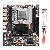 Placa Base para Juegos X58 Pro2 Tarjeta de Sonido con Chip Integrado/Tarjeta de Red Placa Base LGA 1366-Pin para computadora de Escritorio Admite Memoria ECC DDR3