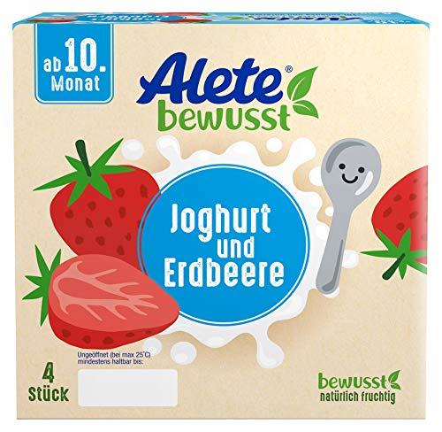 Alete bewusst Dessert Joghurt und Erdbeere, ab dem 10. Monat, 400g