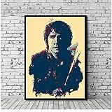 QWGYKR Bilbo Poster Filmkunst Leinwanddrucke Home Wall