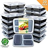 Enther Meal Prep Containers 36oz Lids, Food Storage Bento Box BPA Free/Reusable/Stackable Lunch...