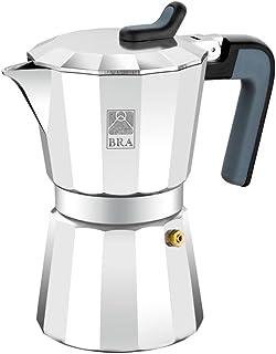 comprar comparacion BRA Deluxe2 - Cafetera, Capacidad 6 Tazas, Aluminio