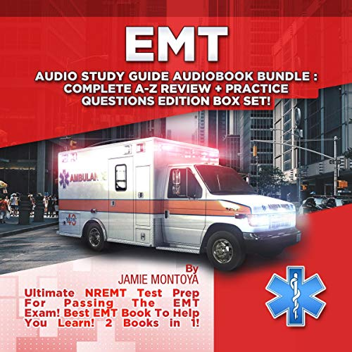 EMT Audio Study Guide Audiobook Bundle! audiobook cover art