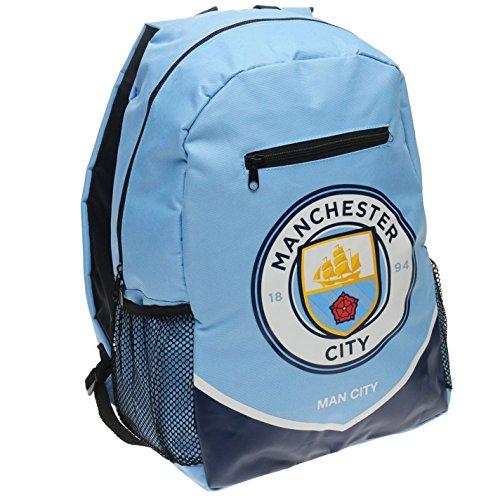 Manchester City Football Rucksack Backpack