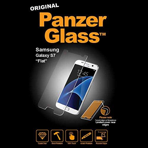PanzerGlass Displayschutzglas (Anti-Fingerprint); passend für Samsung Galaxy S7, Klar