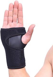 VITTO Muñequera Soporte Férula Muñeca Mano para la Artritis | Túnel Carpiano | Tendinitis: Utilizado por Profesionales de la Salud (Izquierda, Mediana, Negro)