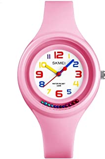 Kids Sports Watch with 50M Waterproof, Analog Wrist Watch for Girls and Boys