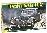 ACE Citroen Traction Avant 11CV Staff CAR Vehicle 1/72 72273