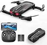 Potensic Mini Drone With Camera For Kids & Adults Beginner, Foldable FPV Quadcopter with Gravity Sensor/Gesture Control / Optical Flow / Headless / Trajectory Flight