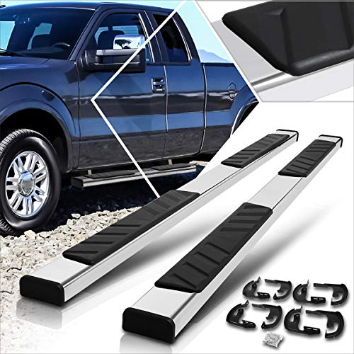 5 Inches Side Step Nerf Bar Compatible with Ford F150 Extended Cab 04-14 Running...