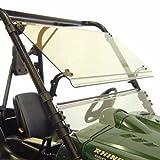 Kolpin UTV Windshield - Full-TILT - Yamaha Rhino - 1487, White, 53' x 26' x 4'
