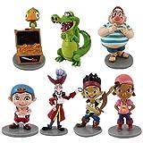 EASTVAPS 7pcs / Set Jake Les Jouets Neverland Pirates Anime Cartoon PVC Action Figurine