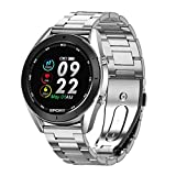 ★ Clear Color Screen:Full Touch screen Slide your fingertips and touch it all the way.and the operation is convenient. Equipped 2.5D Color Glass Touch Screen, robust and scratch resistant. ★ Smart Reminder: After connecting your phone and smart watch...