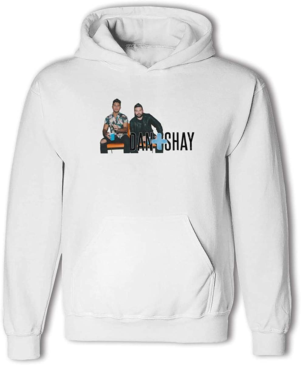 Shay Dan and Shay Youth Teen Pullover Hooded Pocket Sweater for Boys and Girls AOOIUU Dan