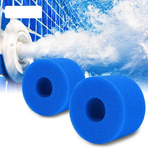 Cheap4uk Spa Filter für Intex Typ S1, Schwammfilter für Pure Spa Typ S1, wiederverwendbarer Filterschwamm, Filter aus Schaumstoff, waschbar, für Intex Pools