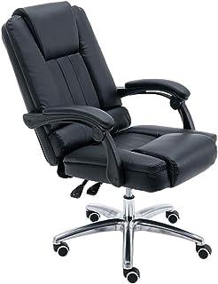 Chaise d'ordinateur de chaise dejeu MHIBAX, chaisepivotante de jeu inclinable confortable à la maison, chaise de bure...