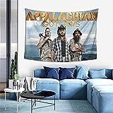 AOOEDM Tapiz de forajidos de los Apalaches para dormitorio, sala de estar, tapices de decoración para colgar en la pared, 60 * 40 pulgadas