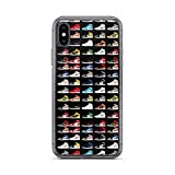 Roadiress TPU Pure Clear Compatible avec iPhone 12 Mini (5.4 inch) Cas Colorways Sneakerheads Phone...
