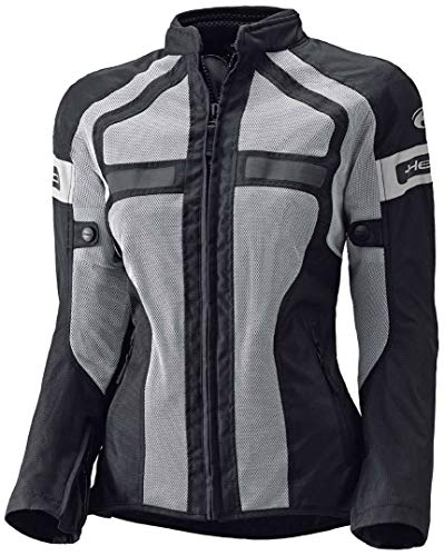 Held Tropic II Damen Motorrad Textiljacke 2016 XXL Grau/Schwarz
