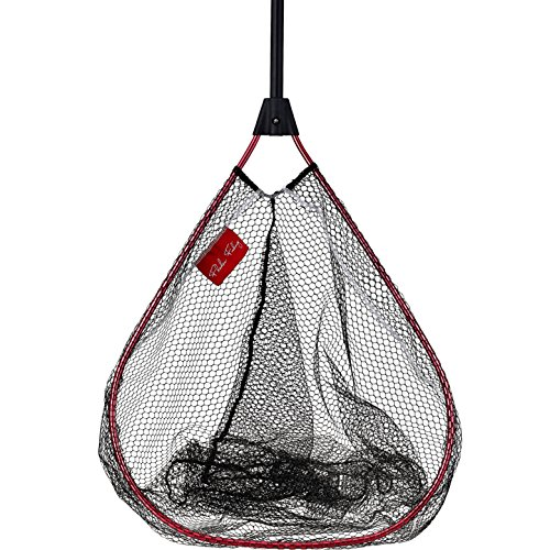 FLADEN Fishing - 1.3m MAXXIMUS Wide Mouth / Deep Body All Rounder Coarse Lake Landing Net (130cm x 50cm x 60cm) with Folding Handle [32-3270]