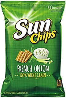 Sunchips Multigrain Snacks, French Onion Bag, 7 Ounce (4-Pack) by Sun Chips