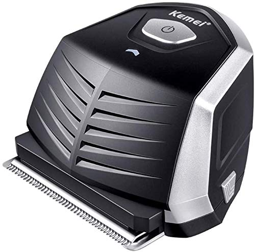 Kemei KM-6032 Professional Cordless Self-Haircut Kit, Men Rechargeable Mini Hair Trimmer Clipper Shaver, Waterproof IPX5