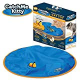 Catch Me Kitty- Interactive Cat & Mouse Toy, Electronic Mouse with Unpredictable Movements, 15 Minute Auto Shut Off, Optional Light & Sound to Attract your Cat for Hours of Play, Exercise & Fun!