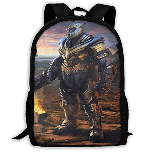 shenguang Avenger Thanos Adult Travel Backpack Fits 15.6 Inch Laptop Backpacks School College Bag Casual Rucksack for Men & Women