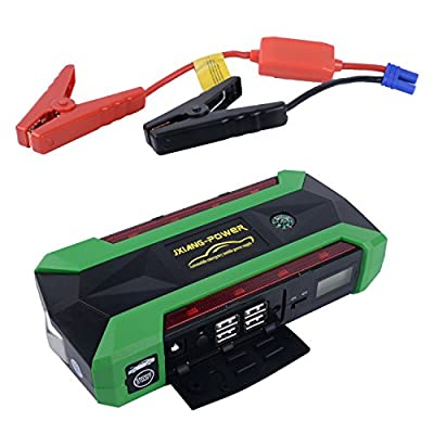 Udyr 20000mAh 600A Peak Compact Portable Car Jump Starter Emergency Car Battery Booster Pack 4USB Power Bank with Built-in LED Flashlight