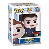 Funko Pop Animation : Toy Story 4 - Benson (2019 Fall Convention Exclusive) 3.75inch Vinyl Gift for ...