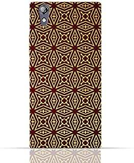 Lenovo P70 TPU Silicone Case With Arbesque Ottoman Pattern Design