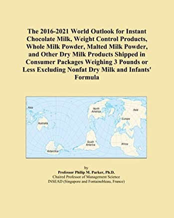 The 2016-2021 World Outlook for Instant Chocolate Milk, Weight Control Products, Whole Milk Powder, Malted Milk Powder, and Other Dry Milk Products Shipped in Consumer Packages Weighing 3 Pounds or Less Excluding Nonfat Dry Milk and Infants' Formula