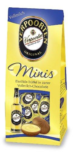 RCP Verpoorten Minis, Eierlikör-Trüffel, Alpenmilch-Schokolade, Flüssige Füllung, Alkoholhaltig, Tolles Geschenk, 110 g