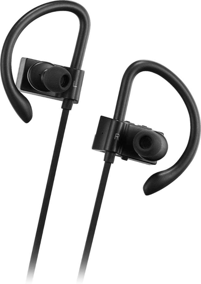 Insignia - NS-AHBTSPORT2 Wireless in-Ear Headphones - Black