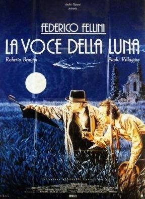 Cinema La Voce Della Luna 1990 Federico Fellini Original Poster 40 x 56 cm