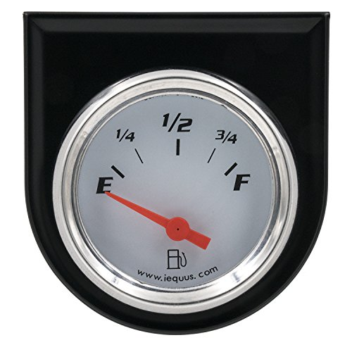 Equus 5362 2' Fuel Level Gauge, White