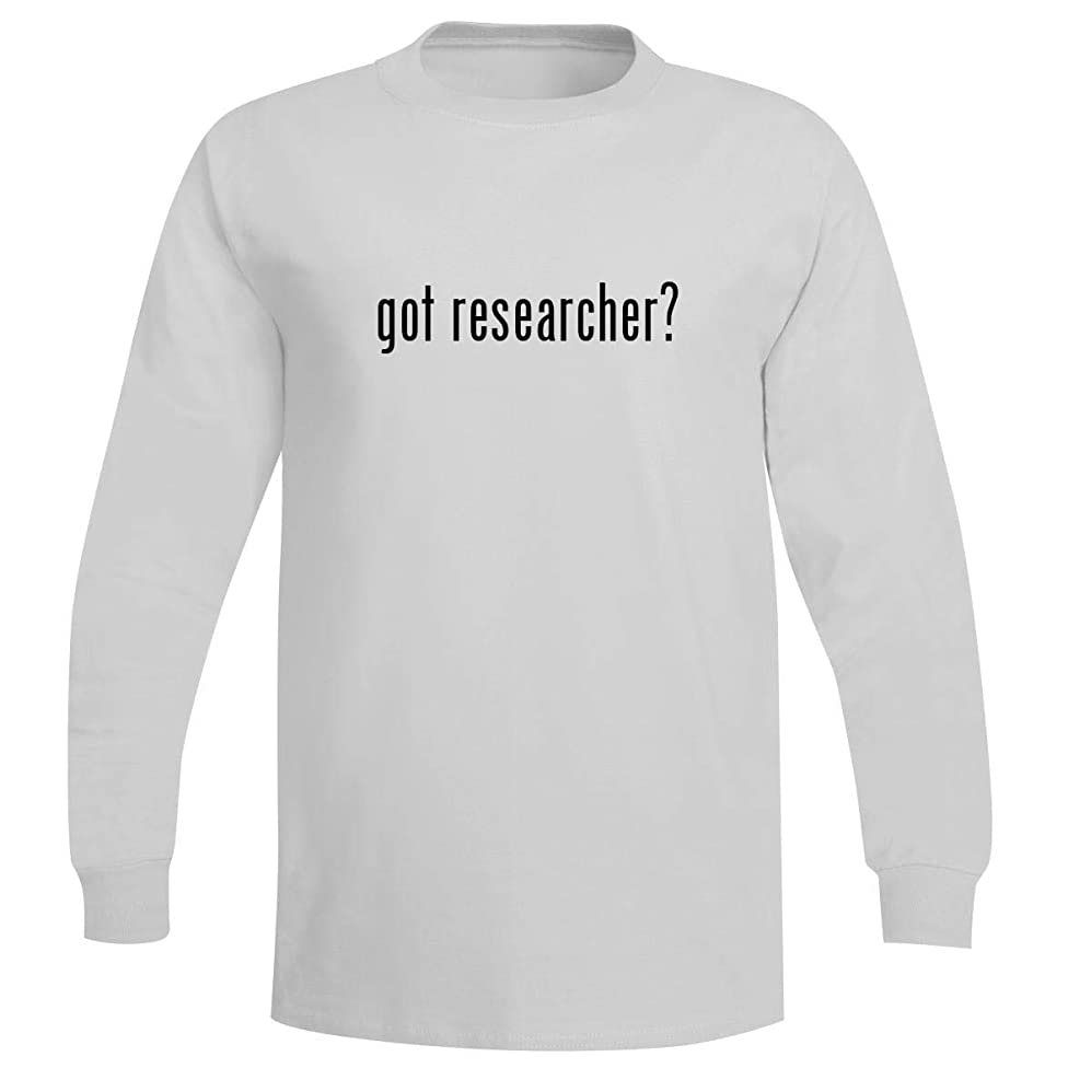 The Town Butler got Researcher? - A Soft & Comfortable Men's Long Sleeve T-Shirt
