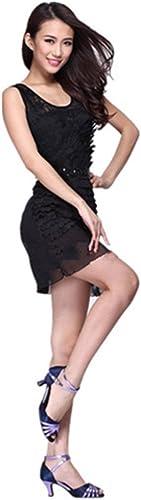 DCL Ladies Latin Dance Jupe Robe Corset Gilet Robe