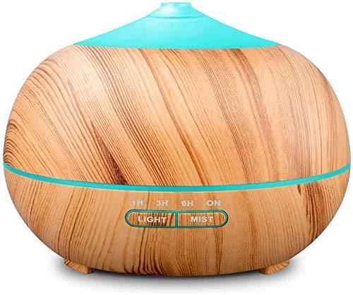 Tenswall 400ml Humidificateur Ultrasonique Diffuseur Aromatherapie Humidificateur d'Huiles Essentielles avec 7 Couleurs...