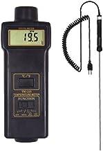 BYQTEC TM-1310-TP-03 Termómetro Termómetro Termómetro Flexible Termopar Sensor Temperatura Industrial Alta Precisión Medidor con rango de medición -50~1100°C/-58~2012°F