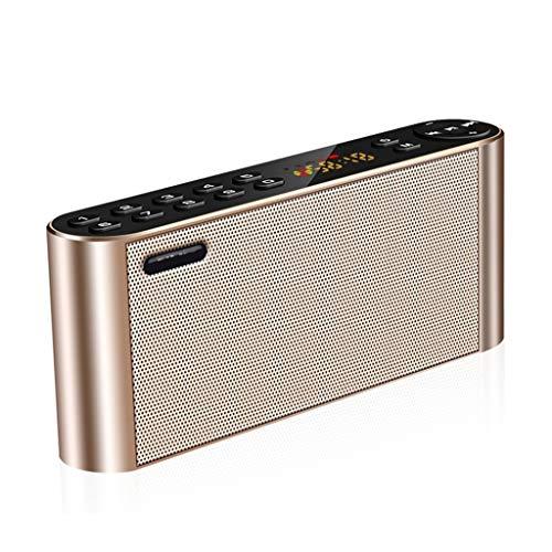 Bluetooth luidspreker, koptelefoon TF-kaart U Disk digitale radio afspelen handsfree PC draadloze subwoofer HD geluid