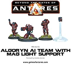 Beyond The Gates Of Antares, Algoryn Ai Team With Mag Light Support