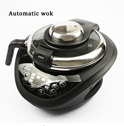 Best Price SHANGXIAN Electric Intelligent Woks Automatic Cooking Smokeless Non Stick Household Multi...